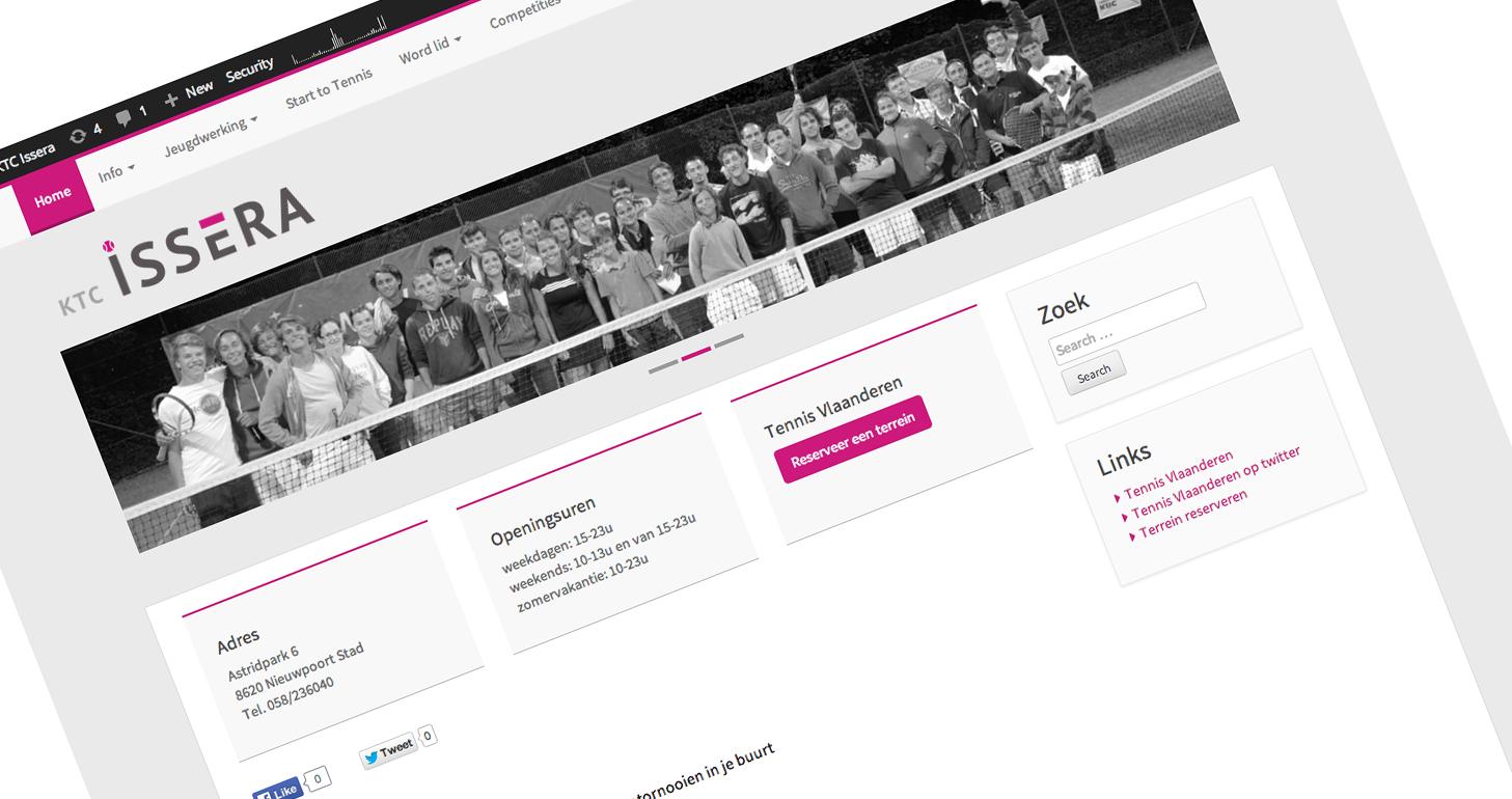 Nieuwe website KTC Issera