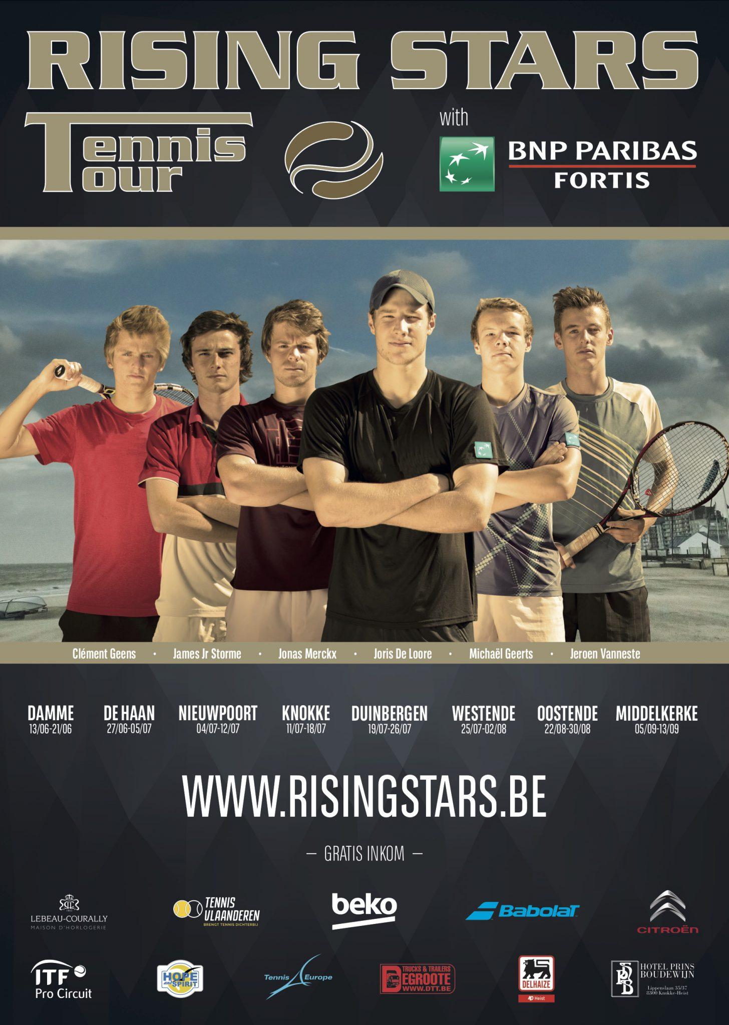 Rising Stars - Affiche RSTT 2015